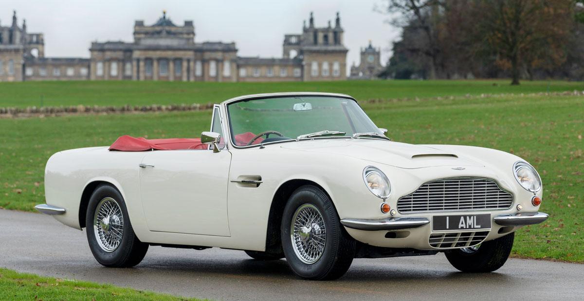 Aston Martin DB6 перевели на «кассетный» электропривод