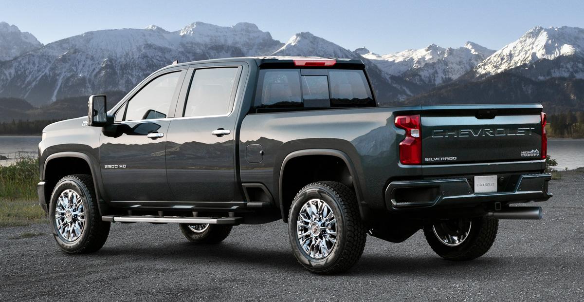Новый Chevrolet Silverado HD: второй вариант дизайна