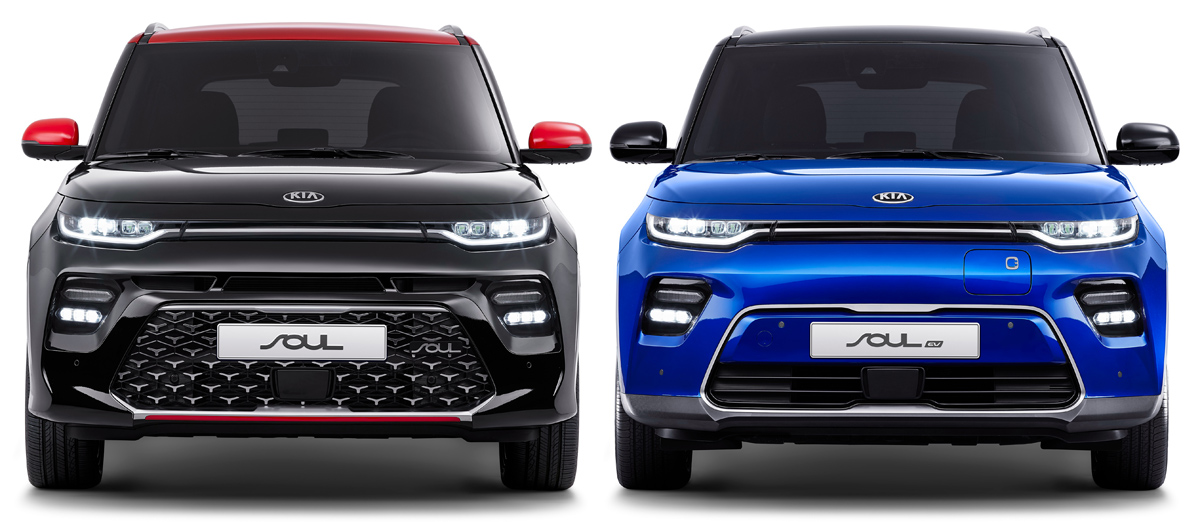 Kia Soul Booster для Кореи: только мощные моторы