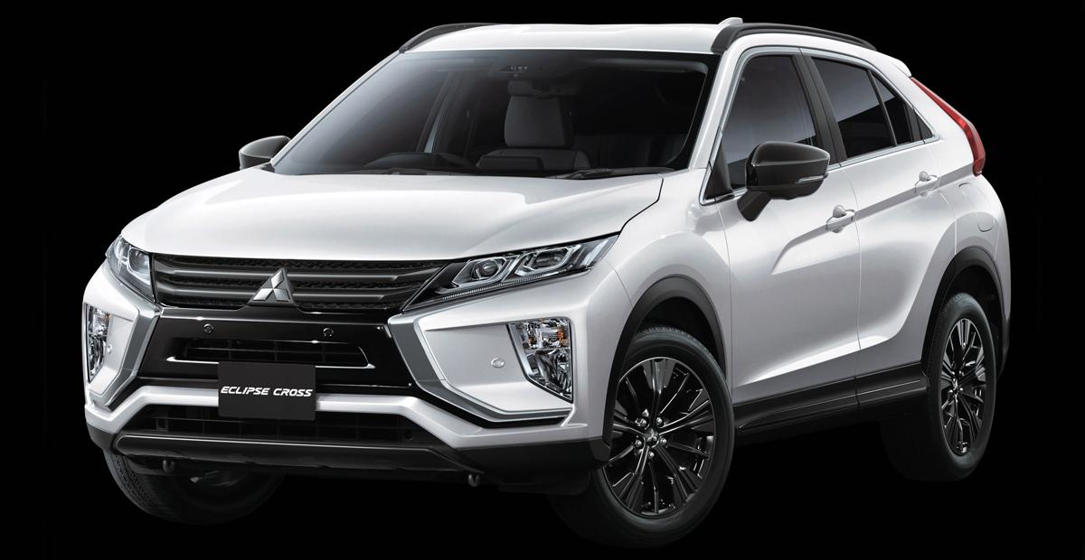 Три модели Mitsubishi обзавелись версией Black Edition