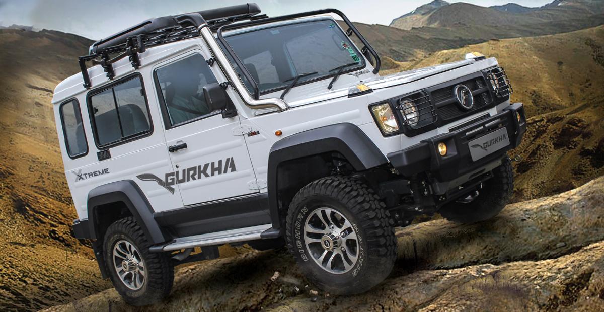 У внедорожника Force Gurkha появилась версия Xtreme