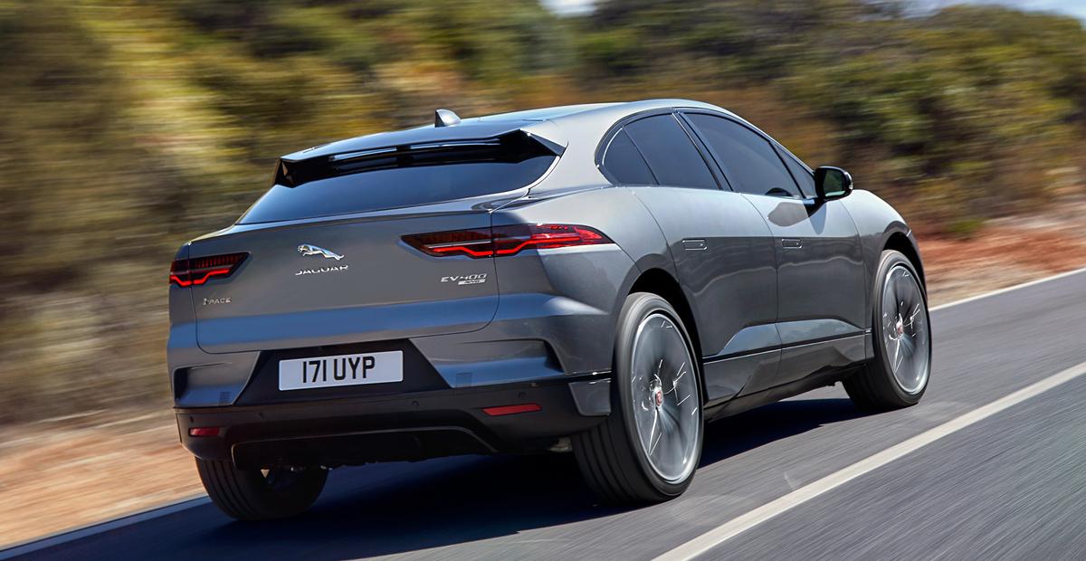 Электрический Jaguar I-Pace: старт продаж в России