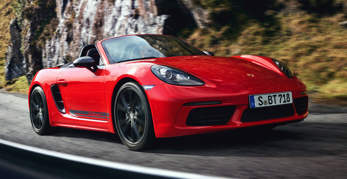 Купе и родстер Porsche 718 T: новая версия для пуристов