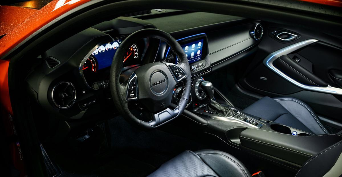 Chevrolet Camaro 4 - Обновленный Chevrolet Camaro добрался до России: цена прежняя