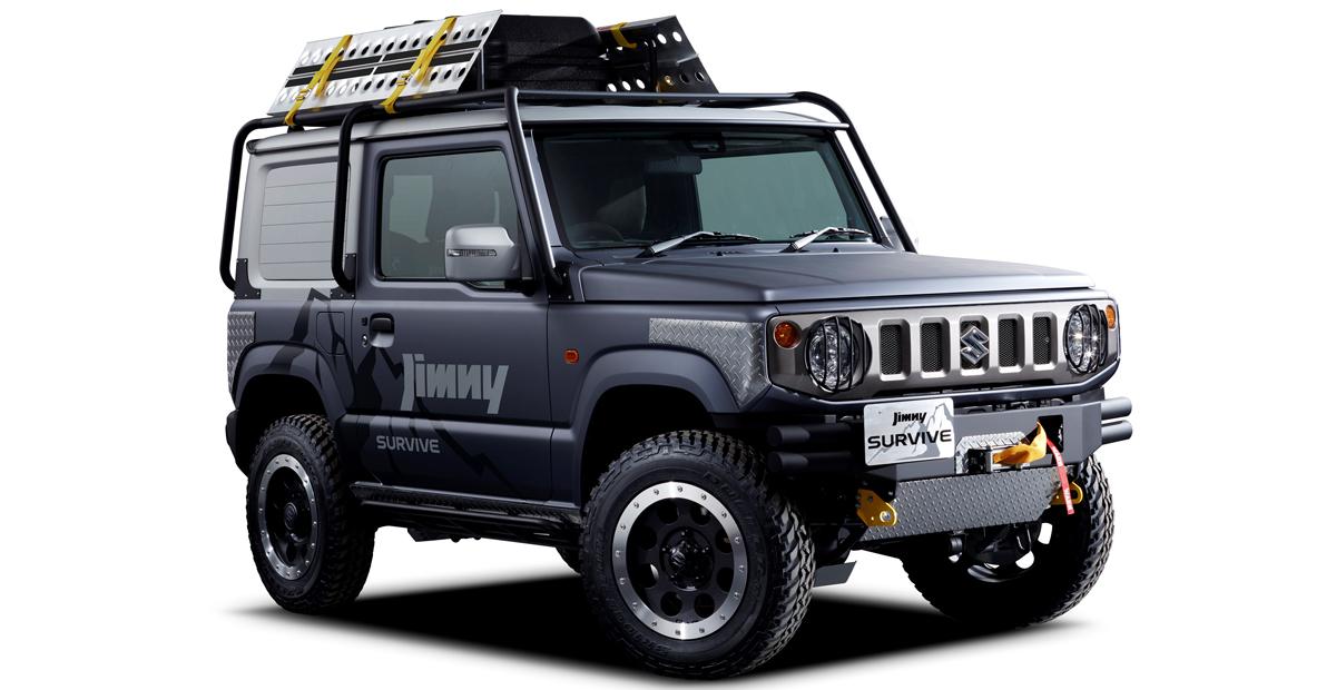 Новый Suzuki Jimny: пикап и версия для выживания