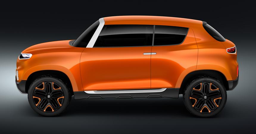 Suzuki Future S предвещает самый дешевый кроссовер марки