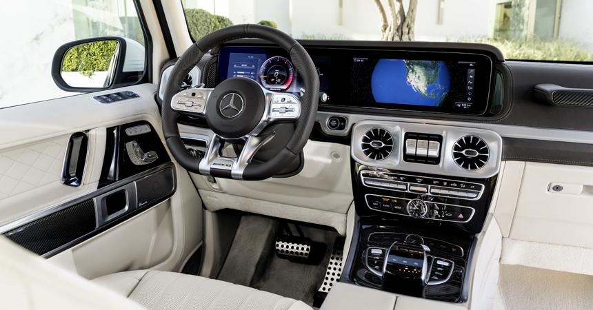 Быстрый кирпич: представлен новый Mercedes-AMG G 63