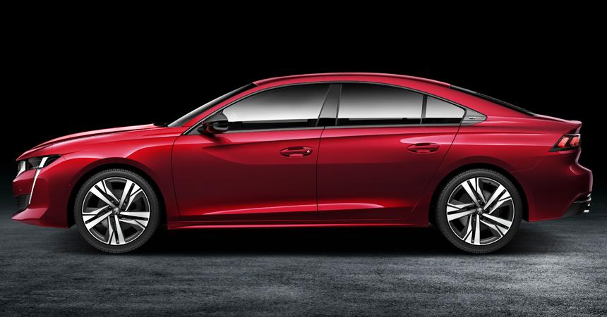 Peugeot 508 нового поколения: лифтбек вместо седана