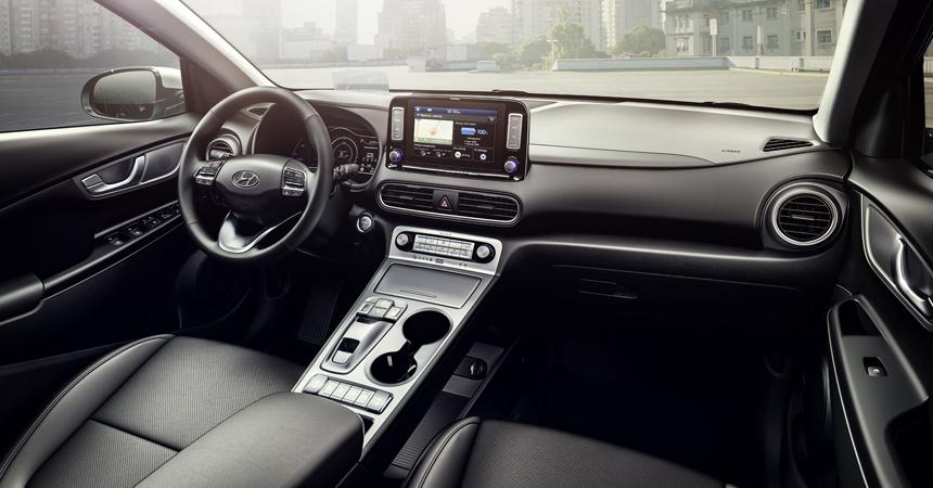 Кроссовер Hyundai Kona Electric дебютировал в двух версиях