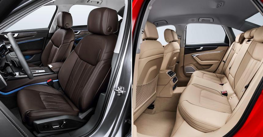 Представлен седан Audi A6 нового поколения