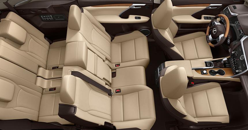 Семиместный кроссовер Lexus RX L: известны российские цены