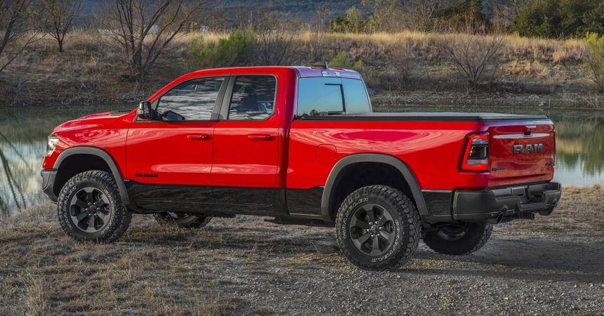 Пикап Ram 1500 нового поколения: гибрид и аэродинамика