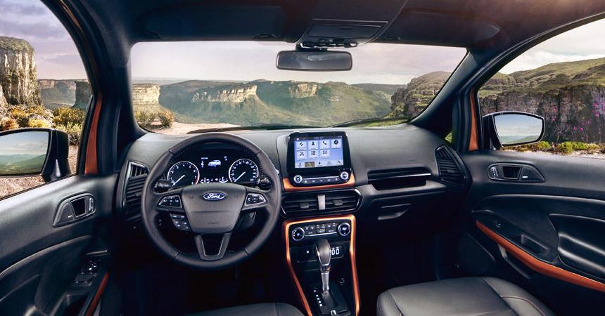 Форд представил вБразилии компактный кроссовер EcoSport Storm