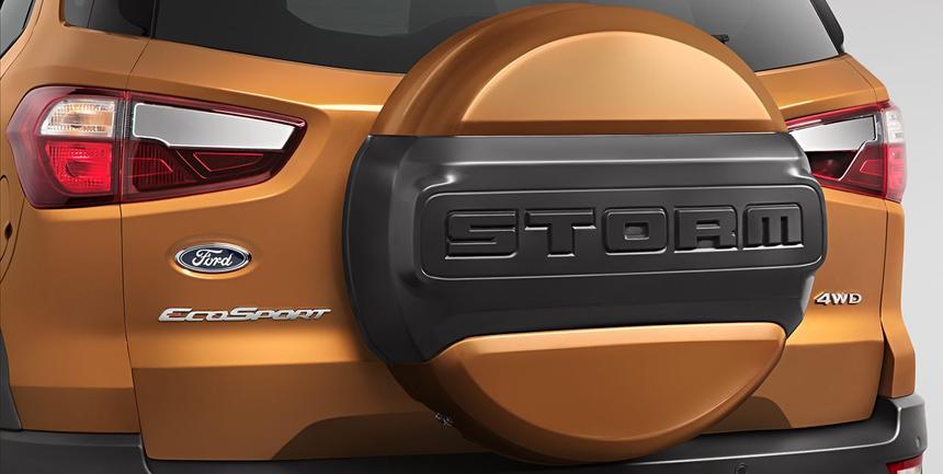 Вглобальной паутине появились фото «брутальной» версии кроссовера Форд EcoSport