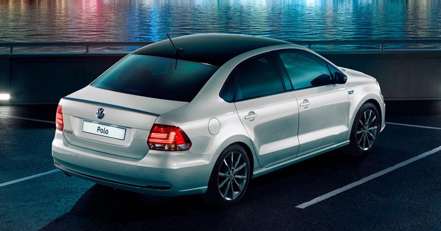 У седана Volkswagen Polo появилась новая версия Drive