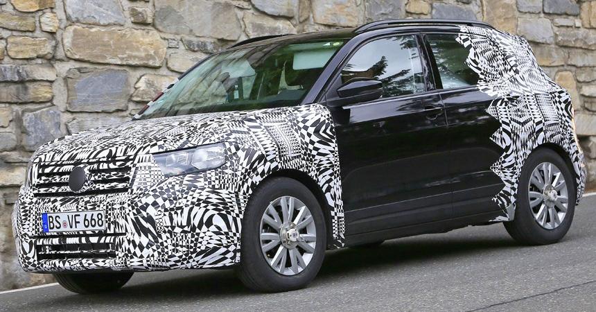 Появилась информация о маленьком паркетнике Volkswagen T-Cross