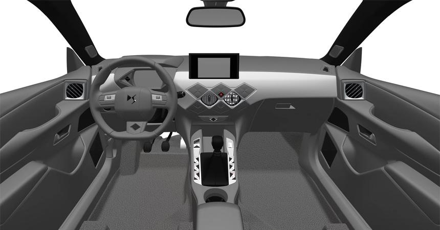 Паркетник DS 3 Crossback засветился на патентных изображениях