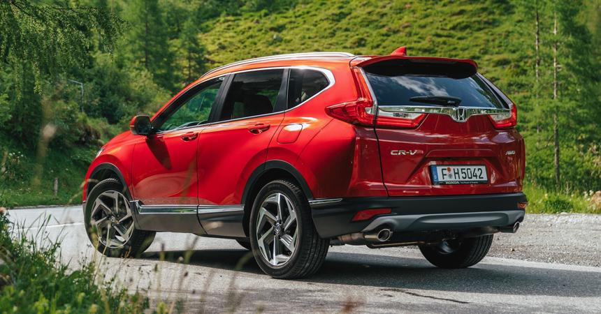 Новая Honda CR-V для Европы: турбомотор и семь мест