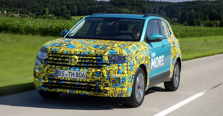 Паркетник Volkswagen T-Cross почти рассекречен