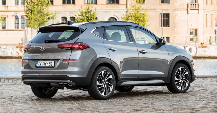 Кроссовер Hyundai Tucson получил гибридную силовую установку class=