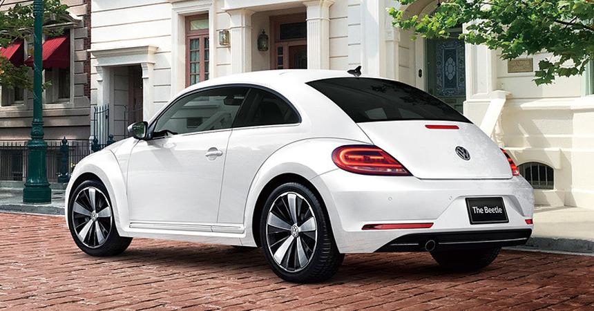 Volkswagen Beetle Exclusive: прощальная серия для Японии