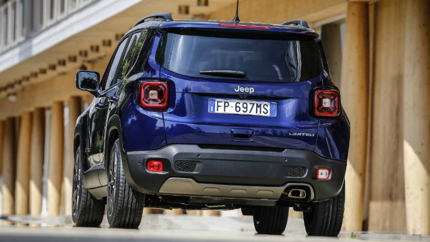 Обновленный кроссовер Jeep Renegade первым примерил турбомоторы Firefly