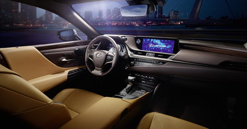 Новый Lexus ES в России: программа определена