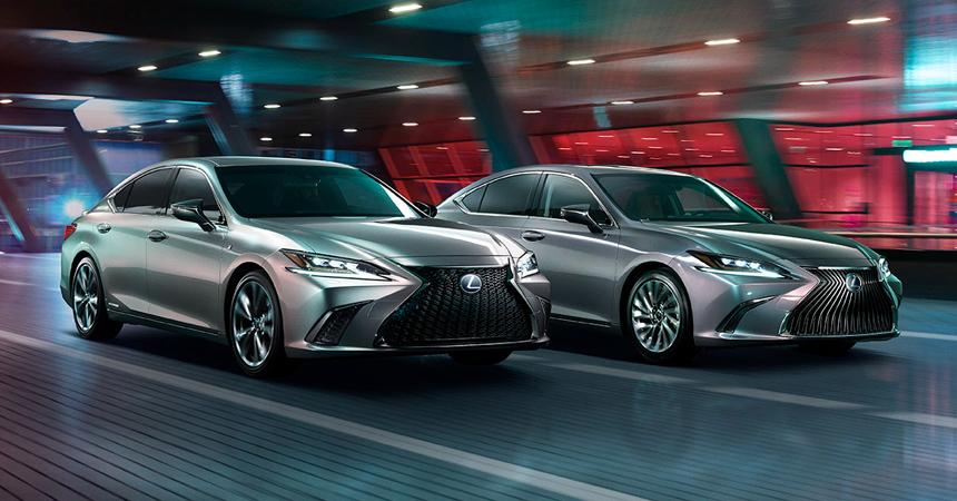 Названы сроки начала продаж вРоссии нового бизнес-седана LexusES