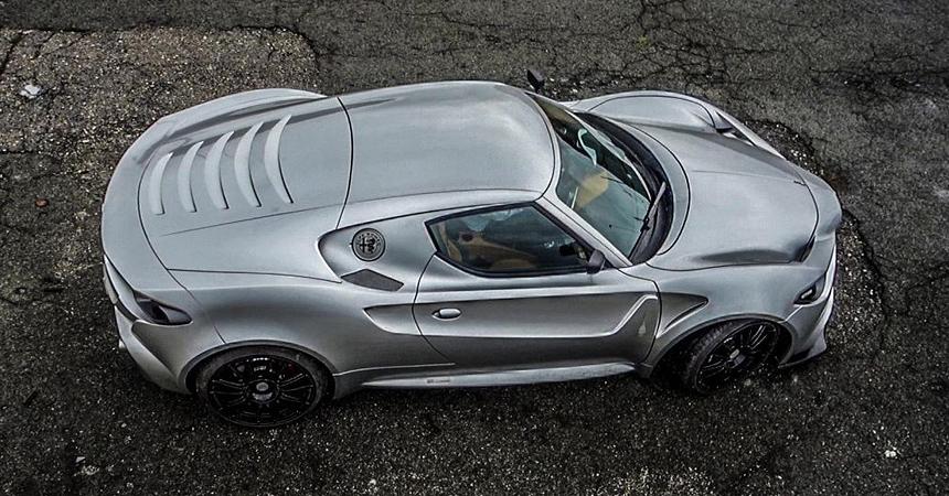 Alfa Romeo Mole Costruzione Artigianali 001: купе 4C, которого не будет
