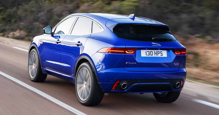 Jaguar представил 200-сильный кроссовер E-Pace