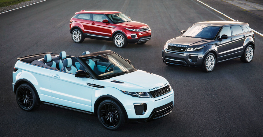 Британский кроссовер Range Rover Evoque лишится трехдверной модификации