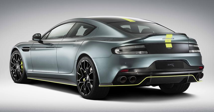 Астон Мартин  поведал  о собственном  новом купе Rapide AMR