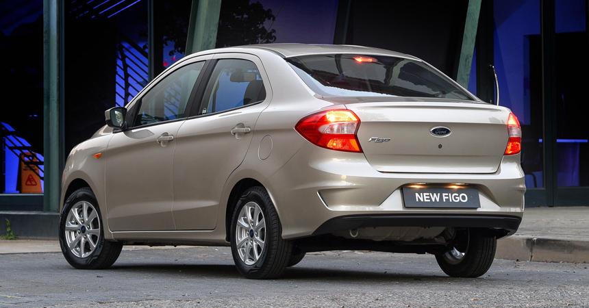 Представлен обновленный Ford Figo сновым мотором