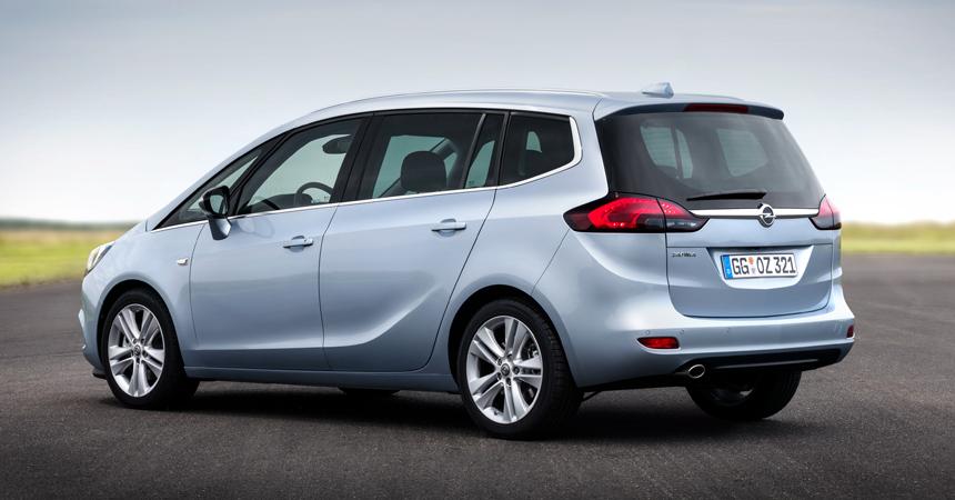 Opel GTC уходит, Zafira остается после обновления