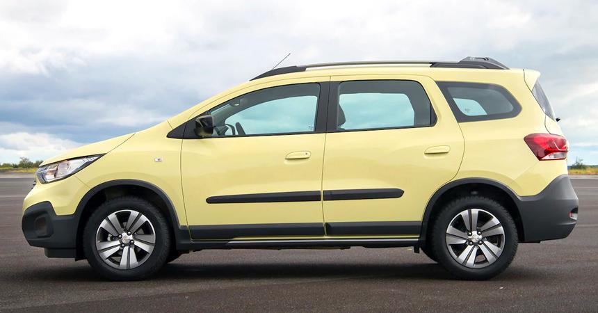 Обновленный Chevrolet Spin Activ: семь мест в кросс-формате