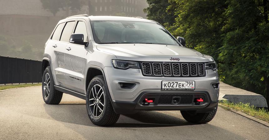 Jeep Grand Cherokee: версии Trailhawk и Trackhawk для России