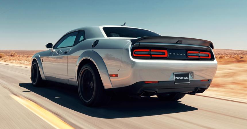 Освеженный Dodge Challenger SRT Hellcat — с мотором от Демона