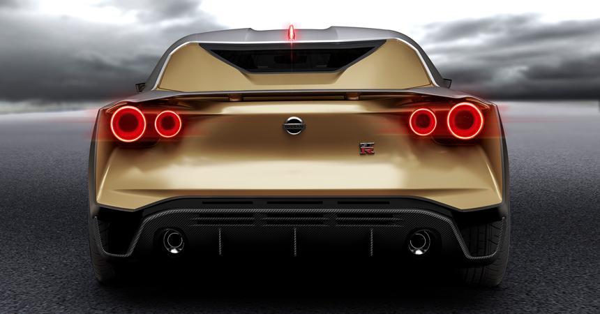 Ниссан иItaldesign выпустят юбилейную модель Ultimate GT-R