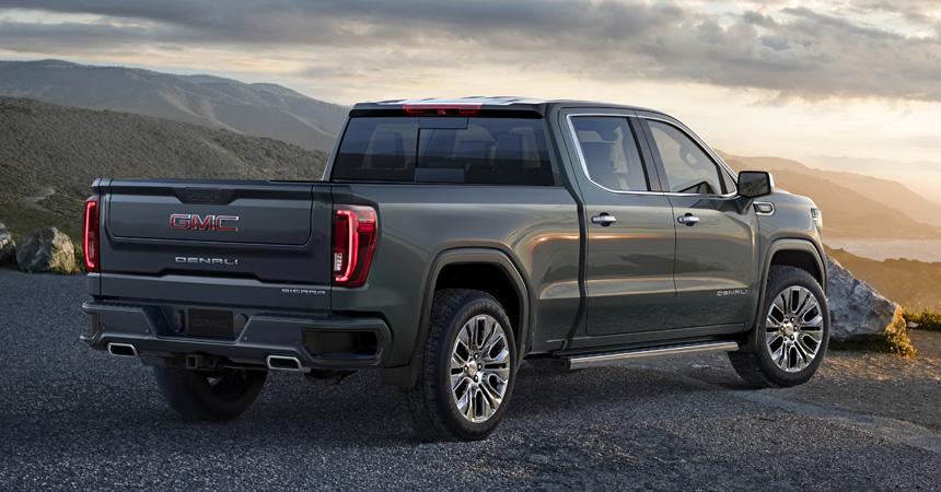 GMC Sierra нового поколения с уникальными опциями представлен официально