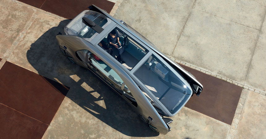 Однообъемник Renault EZ-GO: специально для каршеринга