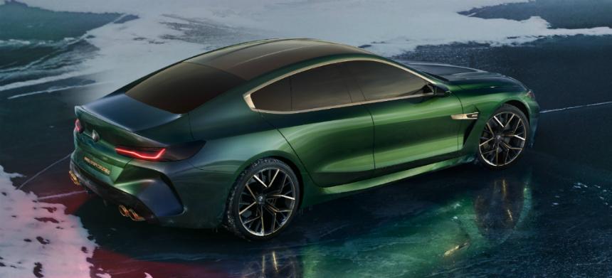 BMW M8 Gran Coupe станет флагманом марки