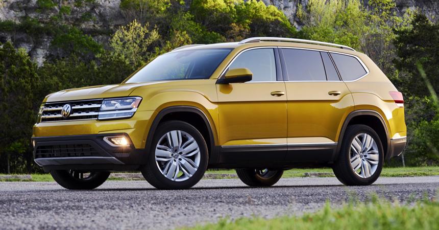 На подходе укороченный пятиместный Volkswagen Atlas
