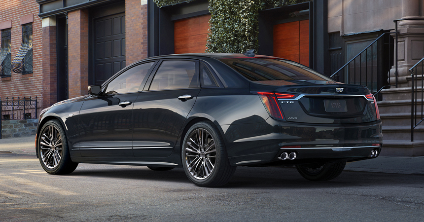 Обновленный Cadillac CT6: битурбовосьмерка и топ-версия V-Sport