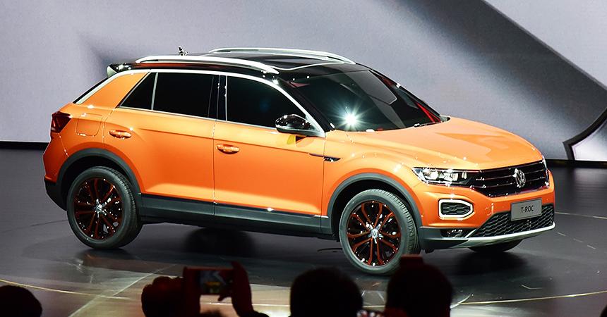 VW продемонстрировал в КНР компактный кроссовер