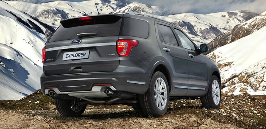 Обновленный Ford Explorer в России: минус 150 тысяч рублей