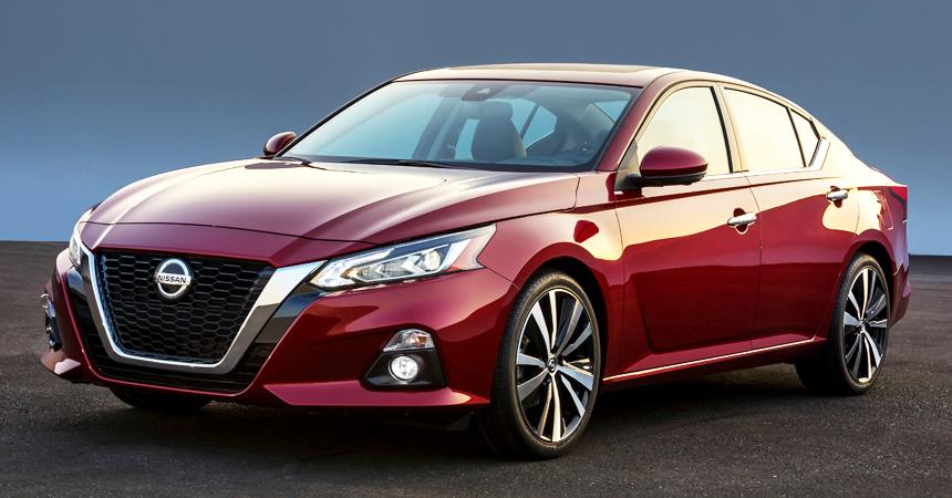 Новый седан Nissan Altima: какой могла бы стать наша Teana