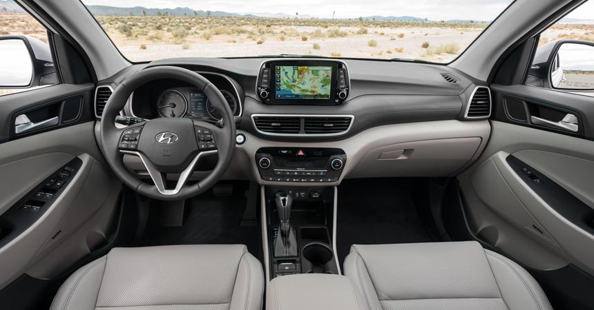 Обновленный Hyundai Tucson: интерьер, дизель и «автомат»