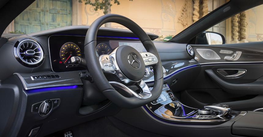 Новый Мерседес-Бенс CLS получил 2-литровый мотор
