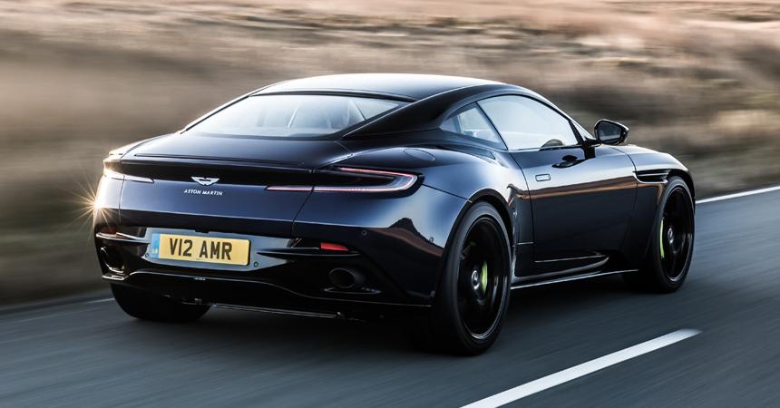 Озвучены цены нановый Aston Martin DB11 AMR