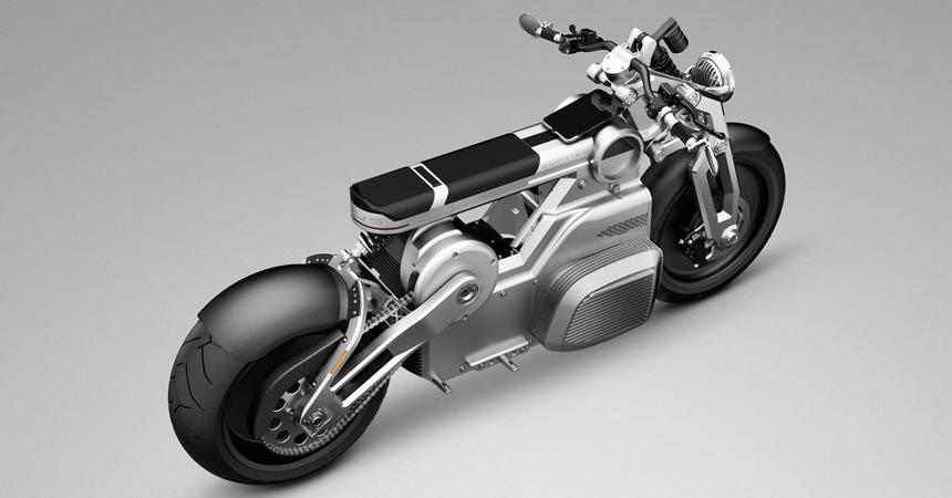 Curtiss Zeus — наследник мотоциклов Confederate